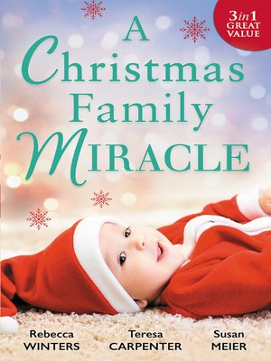 cover image of A Christmas Family Miracle--3 Book Box Set